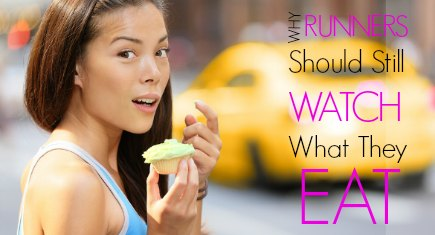 woman eating cupcake