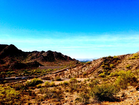 The longest hike in Phoenix that I've done since training!