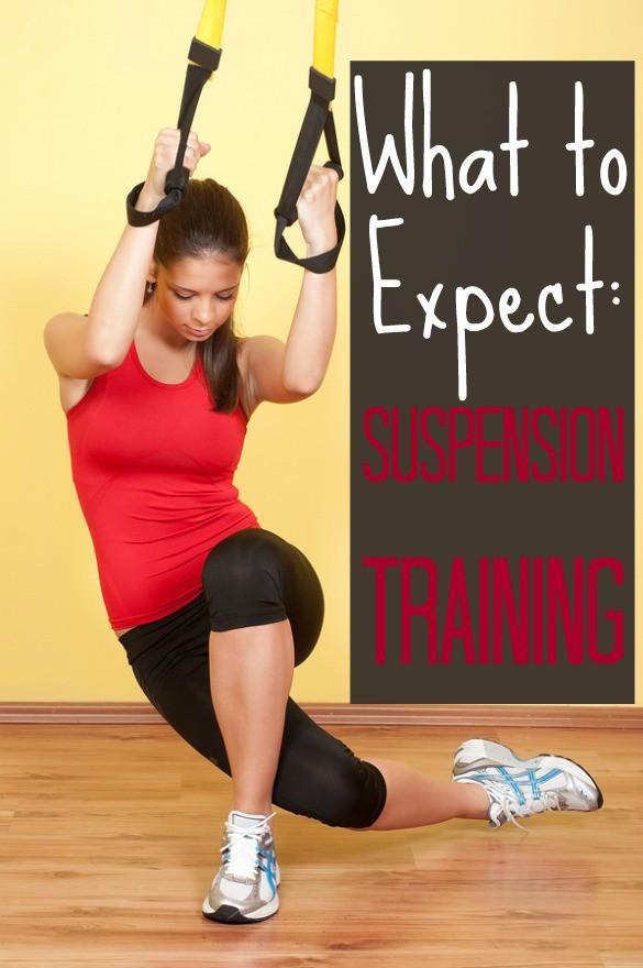 suspension training girl