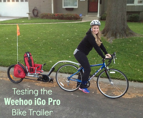 weehoo585 bike trailer