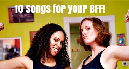 bff playlist, best fit friend, music, workouts