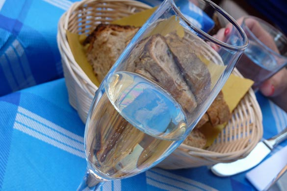 In Italy, Prosecco is enjoyed between the hours of five to seven.