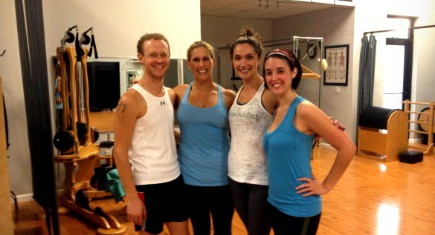 group after barre class