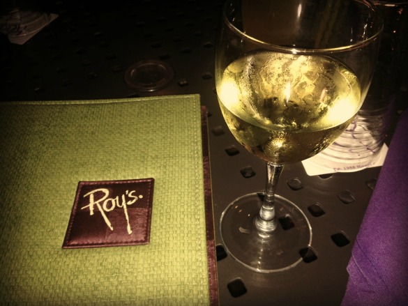 roy's restaurant menu and wine