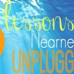 unplugged lessons