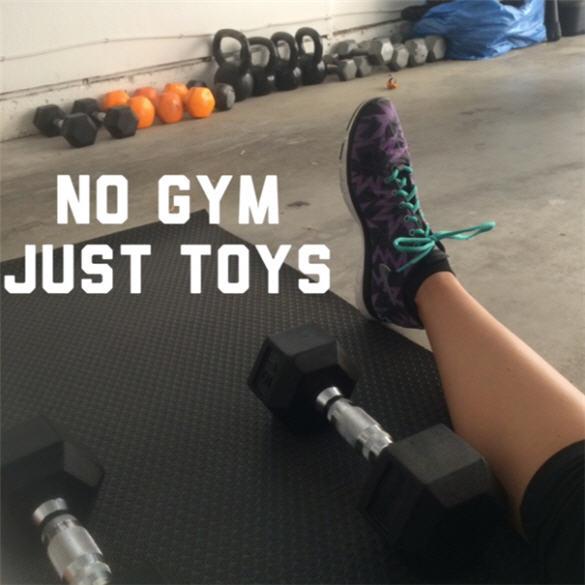 garage workout