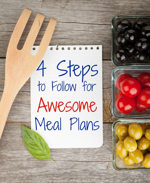 meal planning steps, how to create a meal plan