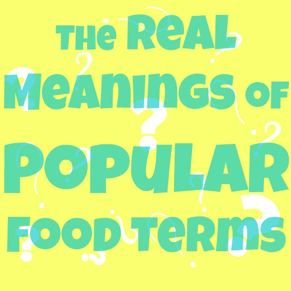 food terms