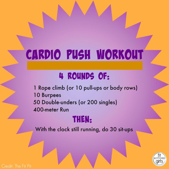 cardio-push-workout