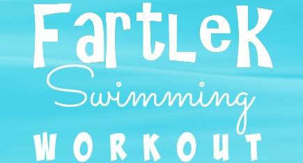 swimming fartlek