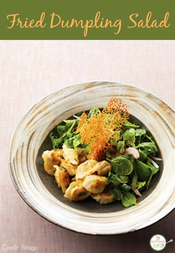 fried-dumpling-salad
