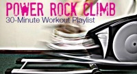30-Minute 'Power Rock Climb' Workout Playlist