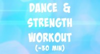 dance and strength workout
