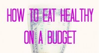 Tips to Eat Healthy on a Budget