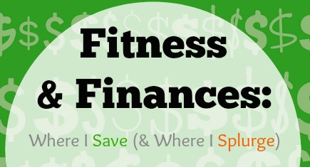 save and spend money on fitness