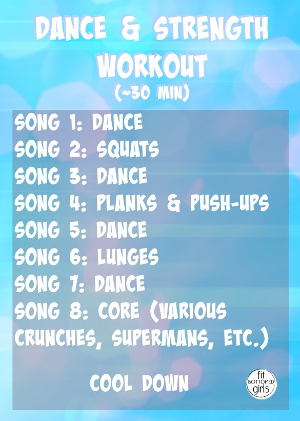 strength and dance workout