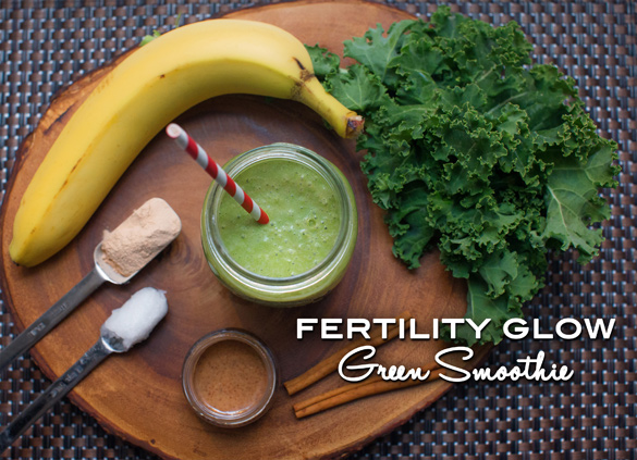 Green 'Fertility Glow' Smoothie Recipe