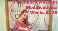 Third Trimester Pregnancy Workout Modifications: Weeks 33-38