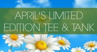 We Welcome Spring With April's Limited Edition Tee & Tank