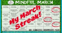 Ditching the Tunes for My March Streak
