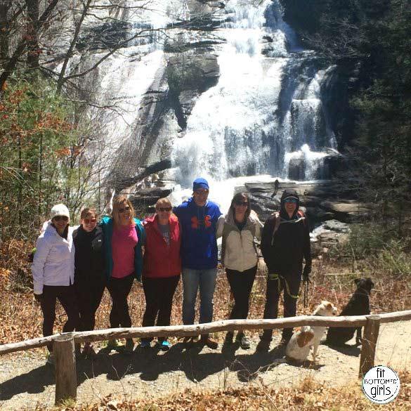 dupont falls group hike