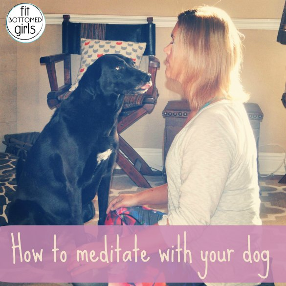meditate-with-dog