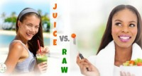 juice or raw