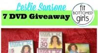 Wednesday Giveaway: Seven Leslie Sansone DVDs