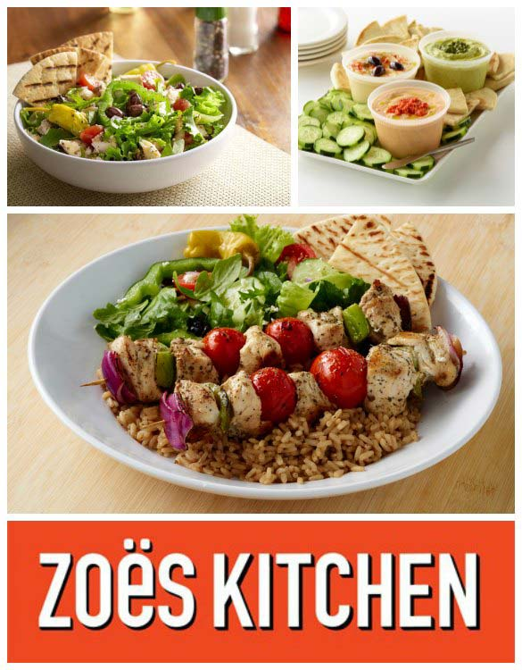 Zoes Kitchen Healthy Fast Food With A Mediterranean Flair