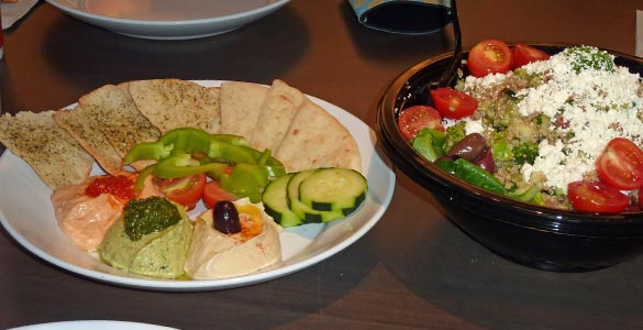 Zo 235 S Kitchen Healthy Fast Food With A Mediterranean Flair