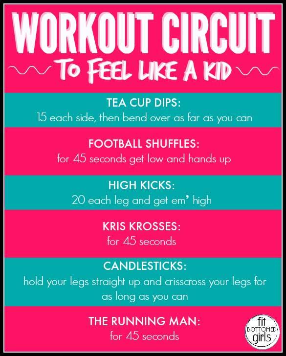 Workout Circuit 585