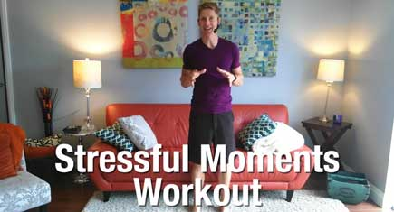 A Workout to Make You Smile When You're Totally Stressed Out