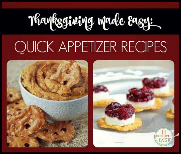 easy appetizers for thanksgiving
