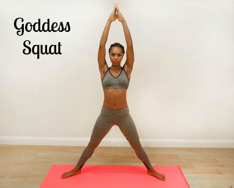 yogaGoddess Pose Standing