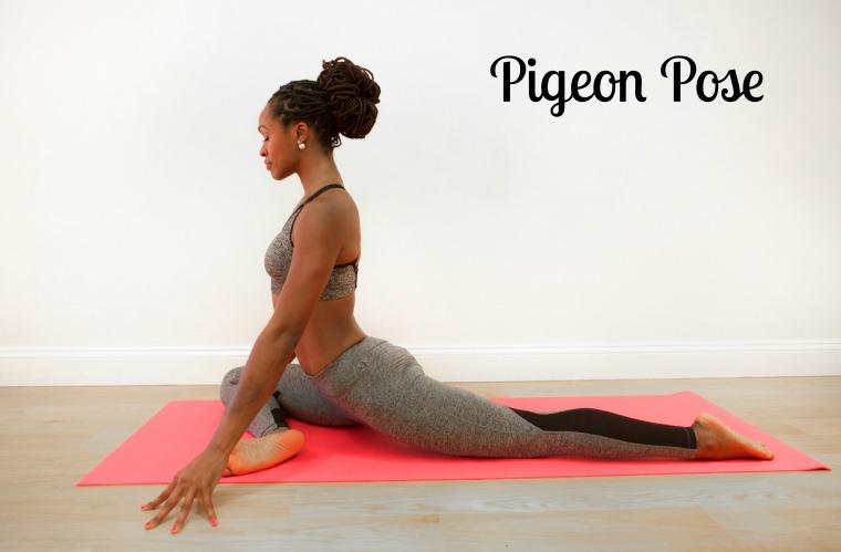 yogaPigeon Pose
