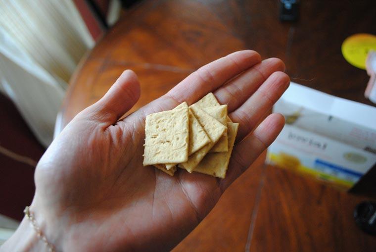 Einkorn-crackers