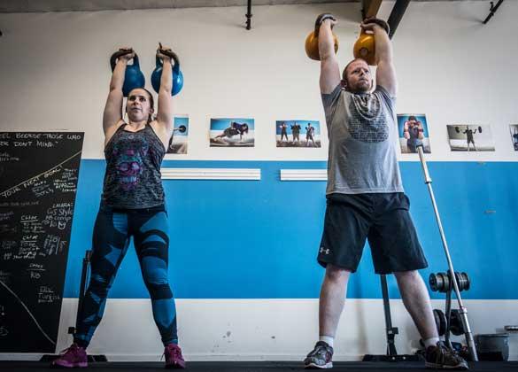 kettlebells real fitness photos