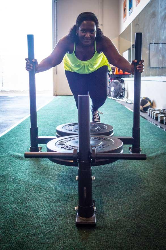 fitness photos push