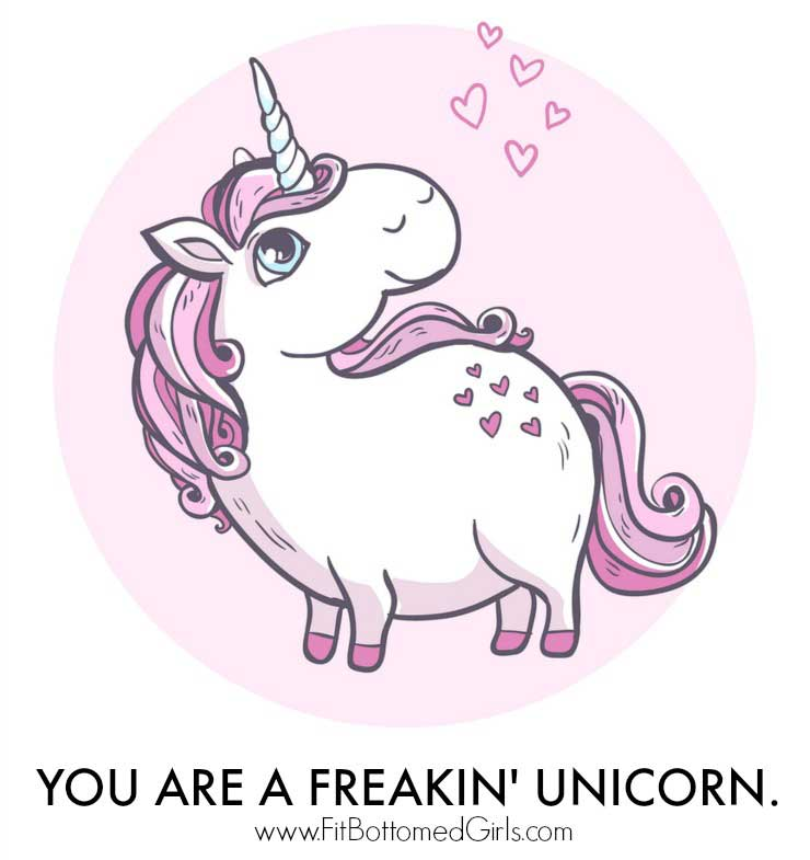 How to Be a Healthy Unicorn - Fit Bottomed Girls