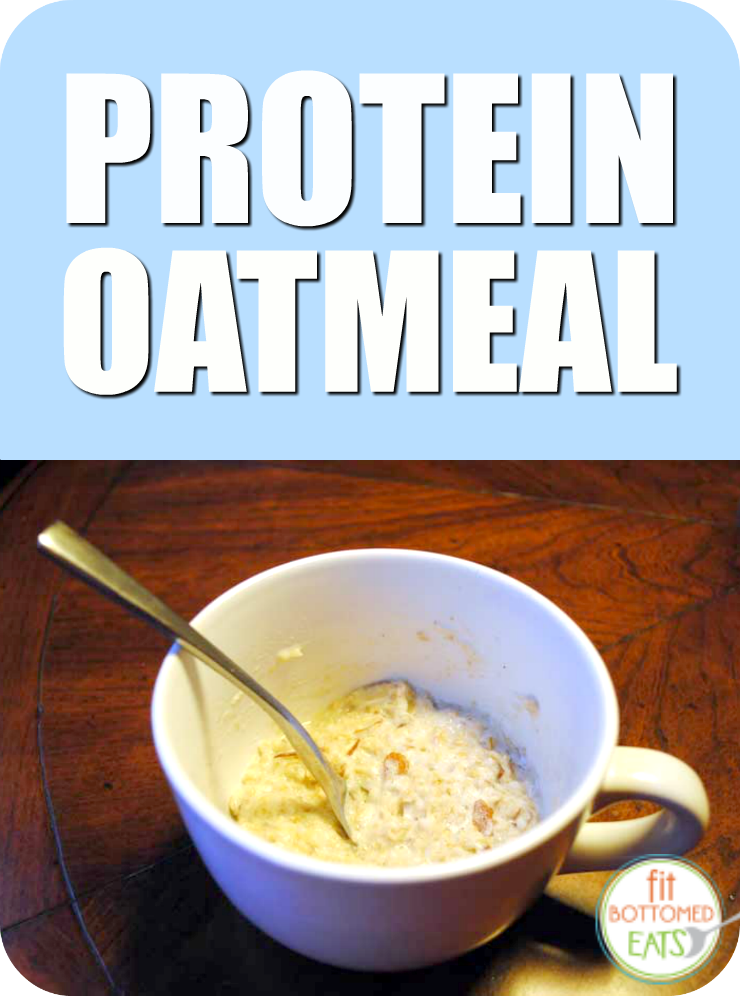 protein-oatmeal