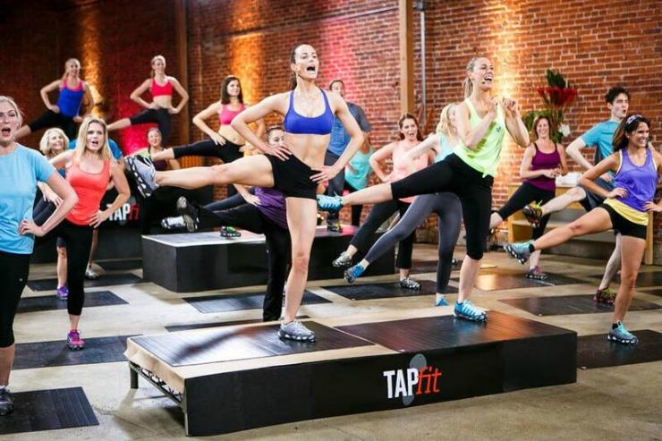 TAPfit dancing image