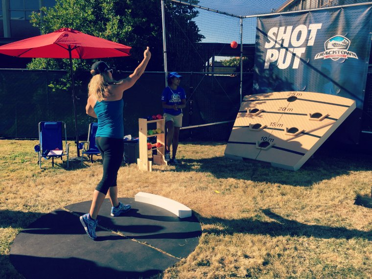shot put track and field olympic trials