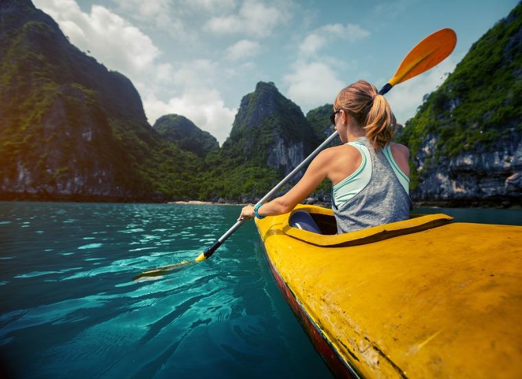 bigstock-Woman-exploring-calm-tropical--87130499