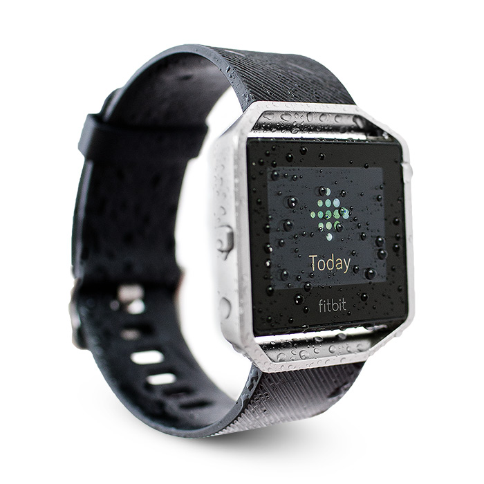 waterfi waterproofed fitbit blaze