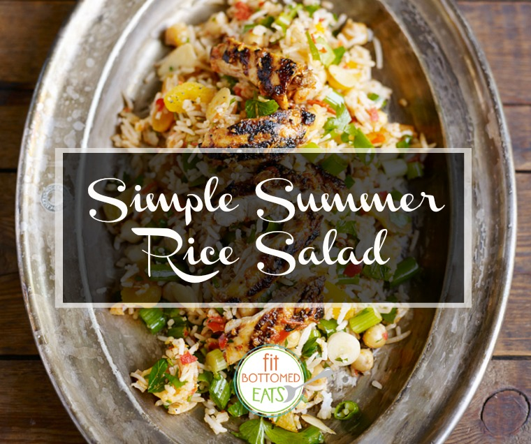 moroccan rice salad featured