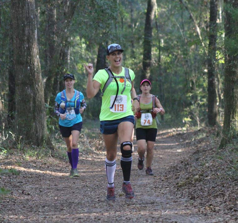 25k trail run