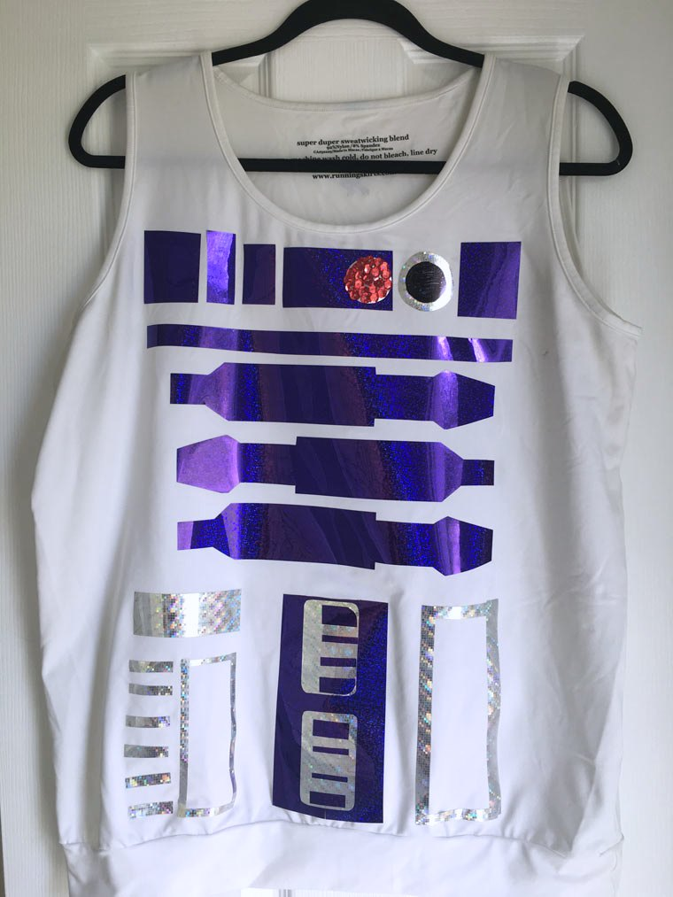 r2d2 costume top