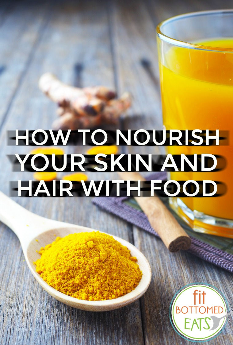 how to nourish your hair and skin