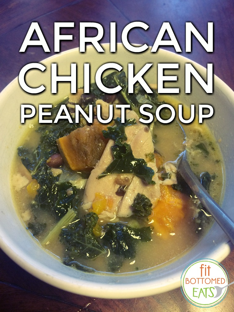 african chicken peanut soup