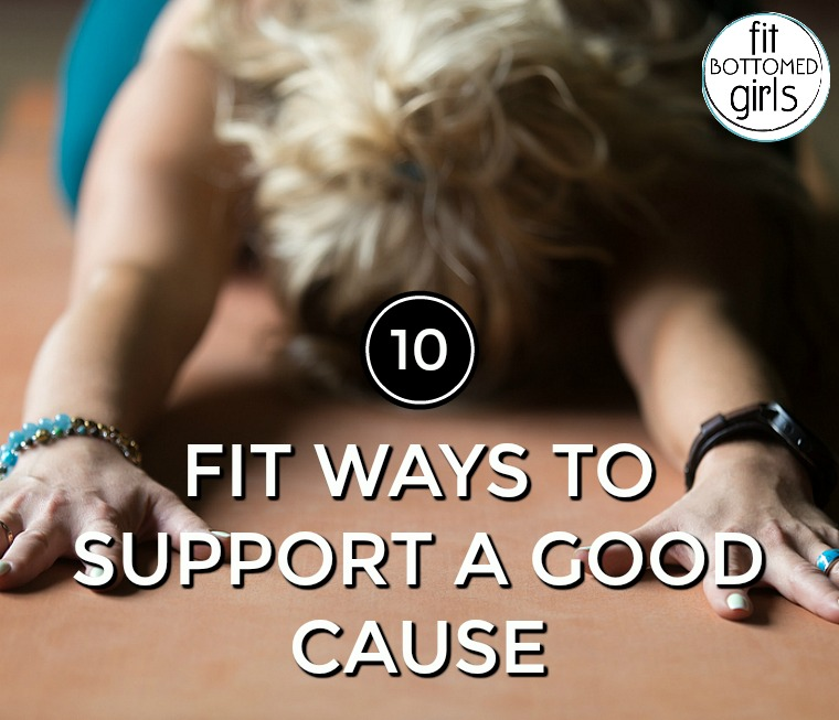 support a good cause